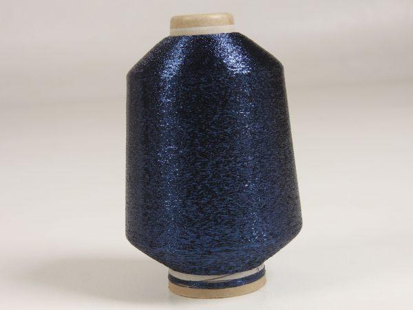 lurex tmavý modrý